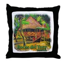 Bocas del Toro, Panama Throw Pillow
