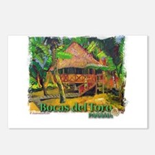 Bocas del Toro, Panama Postcards (Package of 8)