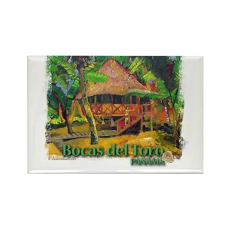 Bocas del Toro, Panama Rectangle Magnet (100 pack)