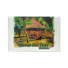 Bocas del Toro, Panama Rectangle Magnet