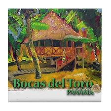Bocas del Toro, Panama Tile Coaster