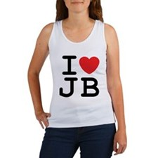 I Heart JB (A) Women's Tank Top