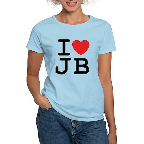 I Heart JB (A) Women's Light T-Shirt