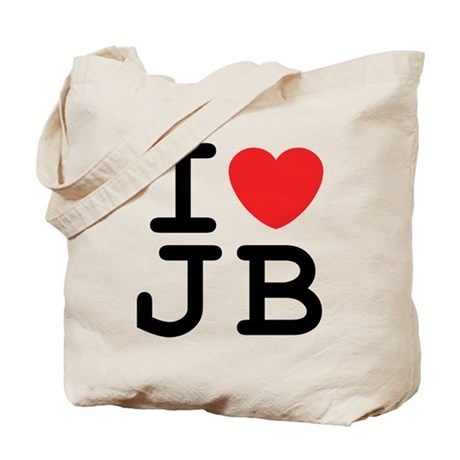 I Heart JB (A) Tote Bag