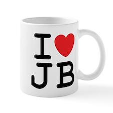 I Heart JB (A) Mug