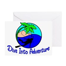 Dive Into Adventure Greeting Cards (Pk of 10)