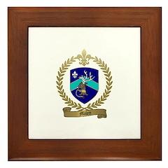 MALETT Family Crest Framed Tile