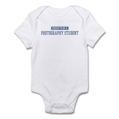 Proud to be a Photography Stu Infant Bodysuit
