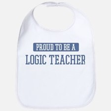 Proud to be a Logic Teacher Bib