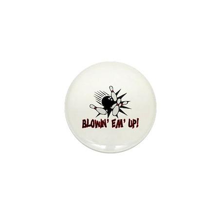 Blowin' Em' Up Mini Button (10 pack)