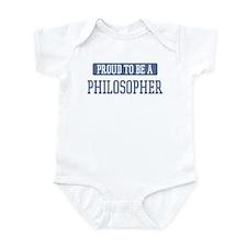 Proud to be a Philosopher Infant Bodysuit