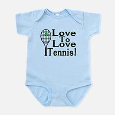 Love To Love Tennis Infant Bodysuit