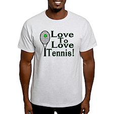 Love To Love Tennis T-Shirt