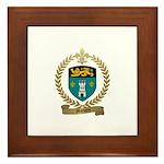 MARQUIS Family Crest Framed Tile