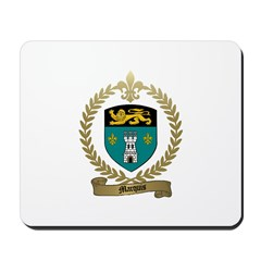 MARQUIS Family Crest Mousepad