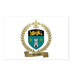 MARQUIS Family Crest Postcards (Package of 8)