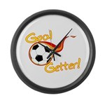Goal Getter Large Wall Clock