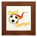 Goal Getter Framed Tile