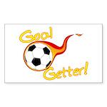 Goal Getter Rectangle Sticker 10 pk)