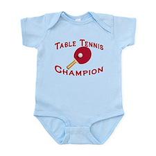 Table Tennis Champion Infant Bodysuit