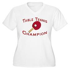 Table Tennis Champion T-Shirt