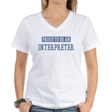Proud to be a Interpreter Shirt