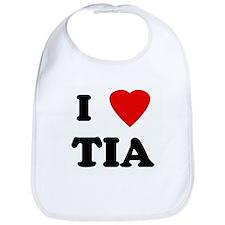 I Love TIA Bib