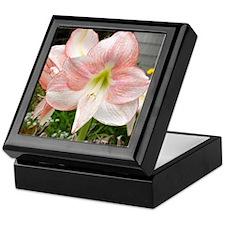 Cute Pink flower Keepsake Box