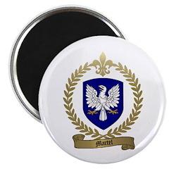 MARTEL Family Crest Magnet