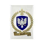 MARTEL Family Crest Rectangle Magnet (100 pack)