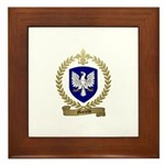 MARTELLE Family Crest Framed Tile