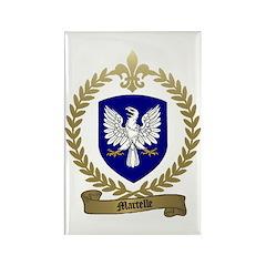MARTELLE Family Crest Rectangle Magnet (10 pack)