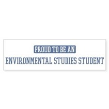Proud to be a Environmental S Bumper Bumper Sticker