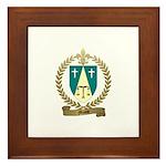 MASSE Family Crest Framed Tile