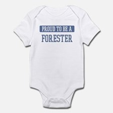Proud to be a Forester Infant Bodysuit