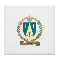MASSE Family Crest Tile Coaster