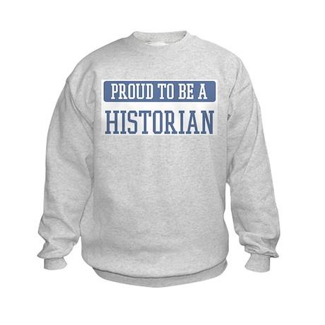 Proud to be a Historian Kids Sweatshirt