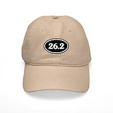 26.2 Marathon Runner Oval Baseball Cap