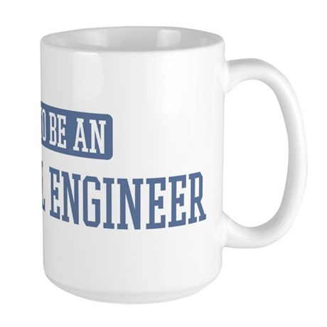 Proud to be a Electrical Engi Large Mug