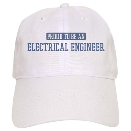 Proud to be a Electrical Engi Cap