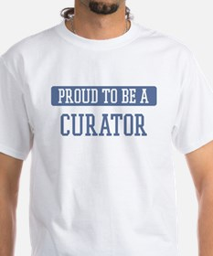 Proud to be a Curator Shirt
