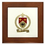 MASSON Family Crest Framed Tile