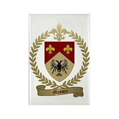 MASSON Family Crest Rectangle Magnet (100 pack)