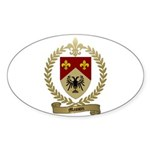 MASSON Family Crest Oval Sticker