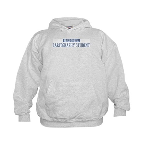 Proud to be a Cartography Stu Kids Hoodie