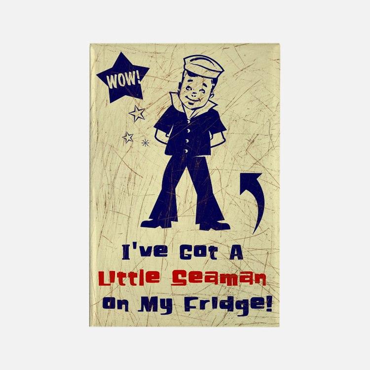 A Little Seaman on My Fridge Magnet