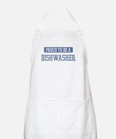 Proud to be a Dishwasher BBQ Apron