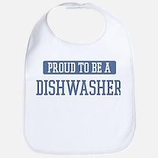 Proud to be a Dishwasher Bib