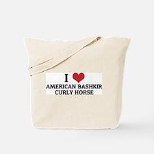 I Love American Bashkir Curly Tote Bag