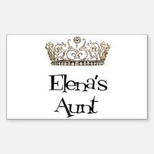 Elena's Aunt Rectangle Decal